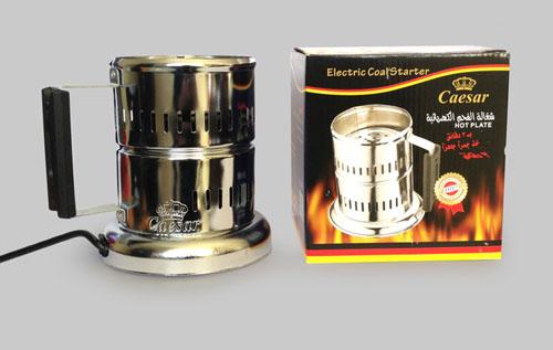 دستگاه زغال سرخ کن برقی سزار caesar